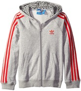 adidas Originals Kids - Young Wild Free Trefoil Hoodie Girl's Sweatshirt