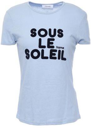 Frame Baby Flocked Slub Cotton Jersey T-shirt