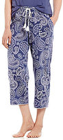 Karen Neuburger Paisley Capri Sleep Pants