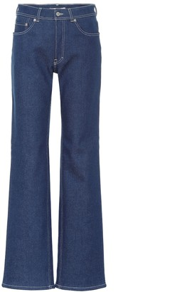 Acne Studios Bla Konst high-rise flared jeans