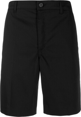 Givenchy Label Patch Chino Shorts