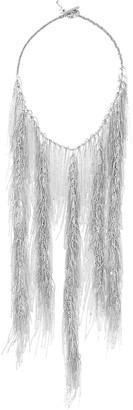 Fabiana Filippi Fringed Bead-Chain Necklace