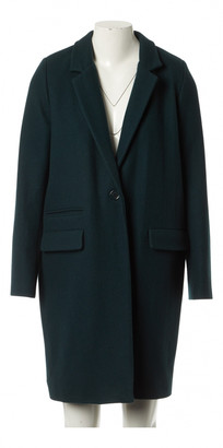 Sessun Green Wool Coats