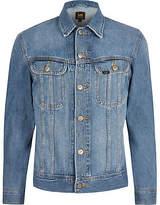 Mens Lee Big and Tall Blue denim jacket