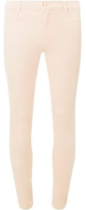 Dorothy Perkins Womens Pale Pink 'Frankie' Super Skinny Ankle Grazer Jeans