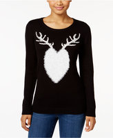 Style&Co. Style & Co Reindeer Graphic Sweater, Only at Macy's