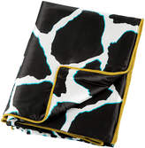 Roberto Cavalli Jerapah Silk Throw - 130x180cm - Black