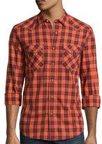 Arizona Long-Sleeve Western Poplin Woven Shirt