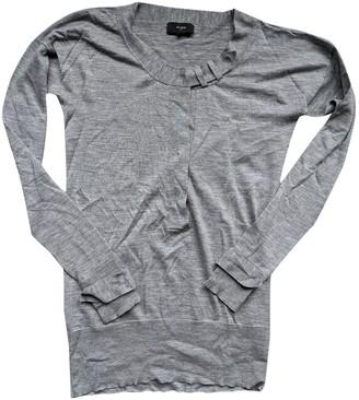 Et Vous Grey Wool Knitwear for Women