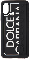 Dolce & Gabbana Black Logo iPhone X Case