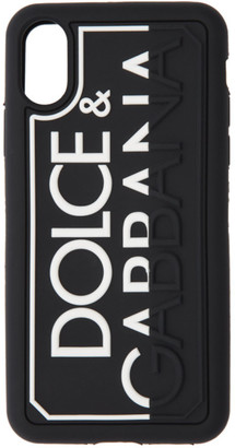 Dolce & Gabbana Black Logo iPhone X Case