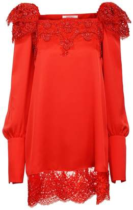 Jiri Kalfar Red Bohemian Dress With Extra Long Sleeves