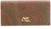 Etro - abstract print wallet - women