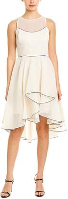 Halston A-Line Dress