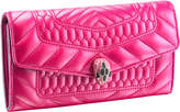 Bvlgari Serpenti Forever Scaglie Quilted-leather Wallet