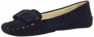 Frances Valentine Women's Franny Loafer Navy 6.5 B US