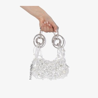 Susan Fang silver tone Bubble Bells shoulder bag