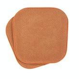 Ultra Comfort Non-Slip Indoor/Outdoor Dining Chair Cushion Winston Porter Fabric: Pumpkin Spice