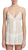 Hanky Panky Peek-A-Boo Babydoll with G-String