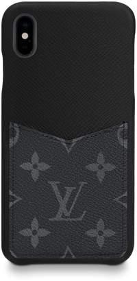 Louis Vuitton iPhone Case Monogram Eclipse XS Black