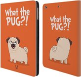 Head Case Designs Piper The Pug Leather Book Wallet Case Cover For