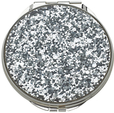 Kate Spade Glitter Compact Mirror, Silver
