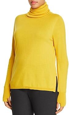Marina Rinaldi Atletica Zip Hem Turtleneck Sweater