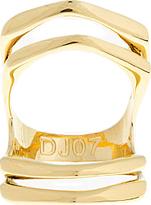 Dominic Jones Yellow Gold Split Knuckle Manticore Ring