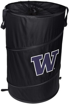 Washington Huskies Cylinder Pop Up Hamper