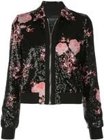 Giambattista Valli floral embroidered sequined jacket