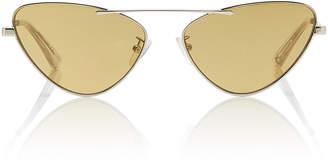 Cat Eye Mcq Sunglasses Cat-Eye Metal Sunglasses