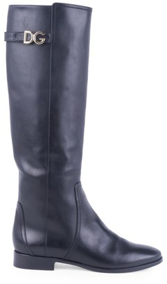 Dolce & Gabbana Tall Leather Boots