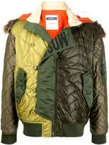 Moschino padded bomber jacket
