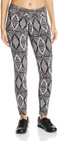 Soybu Women's Allegro Legging, Grey Gatsby, Large