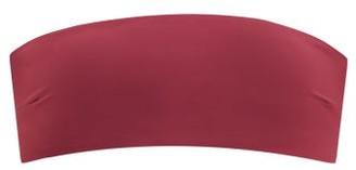 Haight Marcella Jersey Bandeau Bikini Top - Burgundy