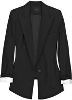 Smythe Sharp-shoulder wool blazer