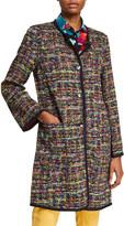 Etro Tweed-Print Jacquard Jacket