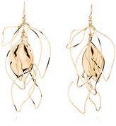 Aurelie Bidermann Vera Leaves Pendant Earrings