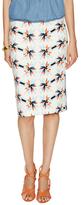 Tanya Taylor Bundy Printed Pencil Skirt