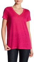 Laundry by Shelli Segal Linen Blend Tee