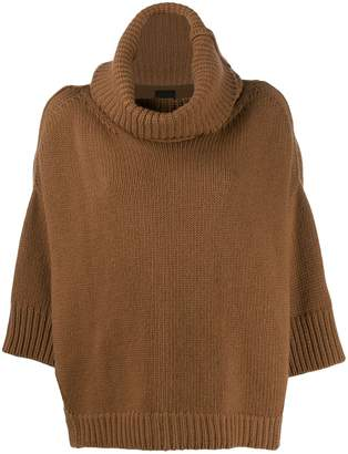 Roberto Collina knitted boat neck jumper