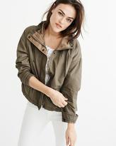 Abercrombie & Fitch Twill Anorak Jacket