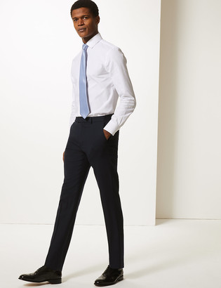 Marks and Spencer Big & Tall Navy Slim Fit Trousers