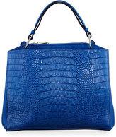 VBH Seven 30 Alligator Tote Bag, Bright Blue