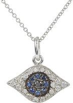 Ileana Makri Women's Diamond & Sapphire Kitten Eye Pendant Necklace