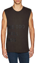 BLK DNM This Too Shall Pass Sleeveless T-Shirt