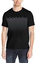 Calvin Klein Jeans Men's Short Sleeve Mesh Horizon Crew Neck T-Shirt