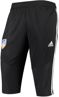 adidas Men's Black FC Cincinnati Three-Quarter climacool Pants