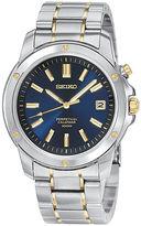 Seiko Mens Perpetual Calendar Two-Tone Watch SNQ010
