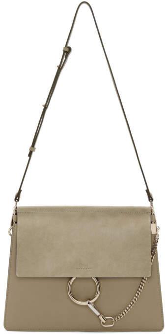 Chloé Grey Medium Faye Bag